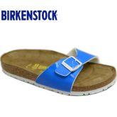 春夏新款Birkenstock/Madird美腿漆皮荧光靓丽色
