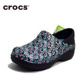 Crocs娜莉雅工作克骆格女士花纹专业防滑工作鞋/厨师鞋 医生鞋 护士鞋 Neria Pro Clog 204046