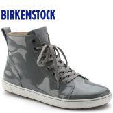 德国制造Birkenstock时尚高帮休闲鞋/板鞋Bartlett漆皮款