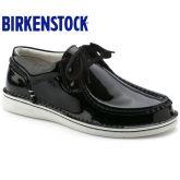 德国Birkenstock手工缝制牛皮休闲鞋Pasadena漆皮新款